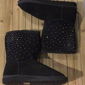 New Nine West Clubo Faux Fur Lined Boots Size 7